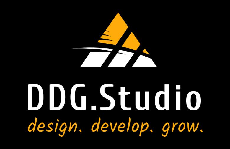 DDG-Studio-Responsive-One-Page-Website-Design-Logo