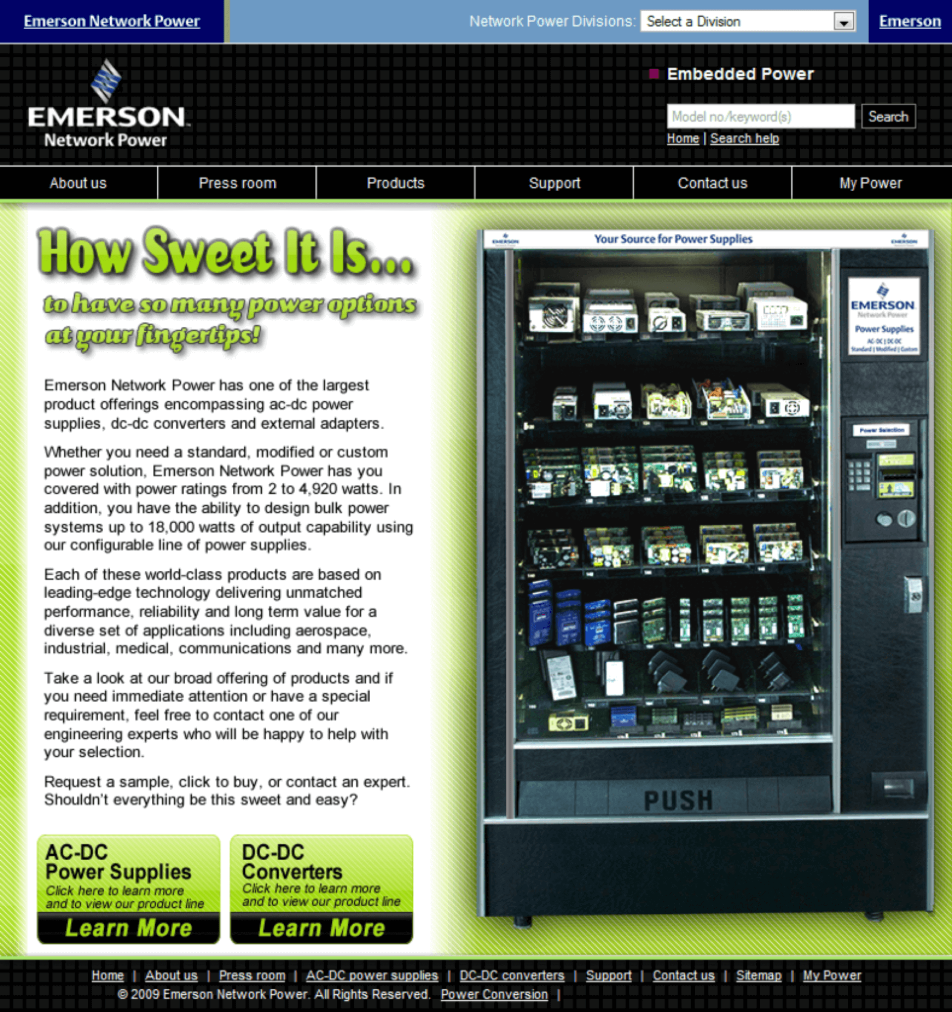 Emerson-AC-DC-Power-Supplies-DC-DC-Converters-Website-Design-Campaign-Page-PC-1