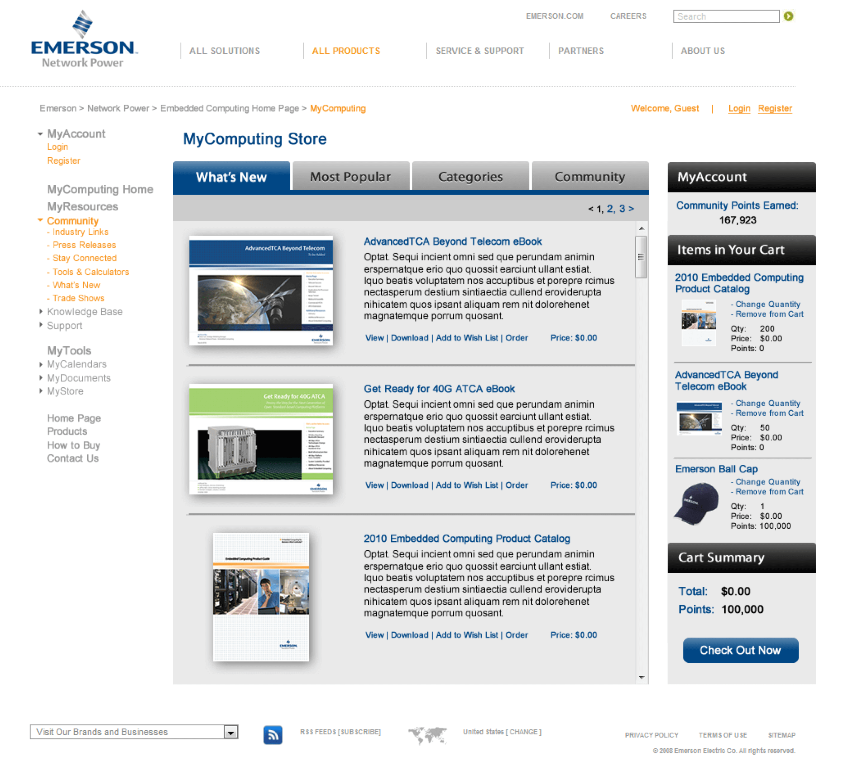 Emerson-Embedded-Computing-Extranet-Portal-Brochures-Ebooks-Whitepapers