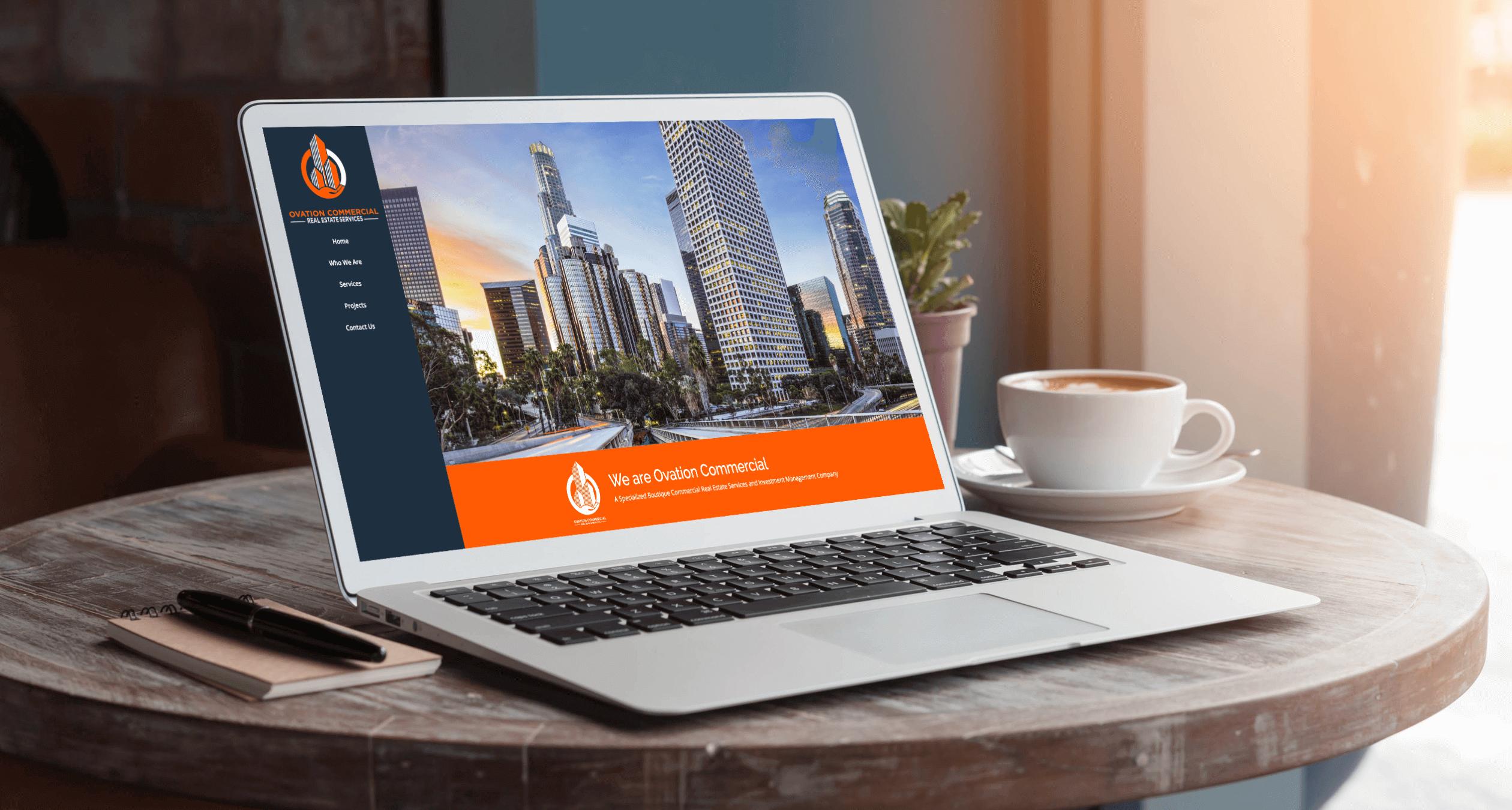 Ovation Commercial Real Estate Website