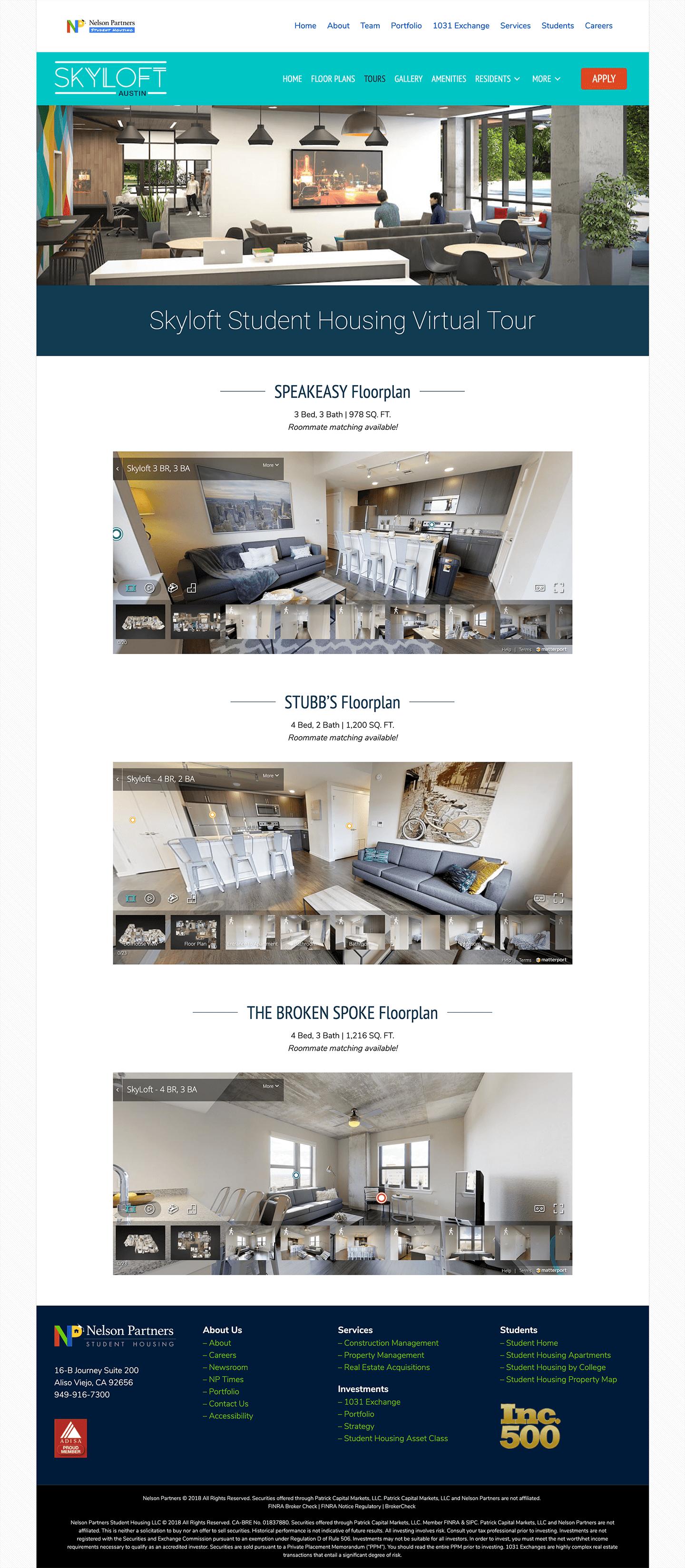 Skyloft-Student-Housing-Apartments-Website-Design-Virtual-Tour-Page