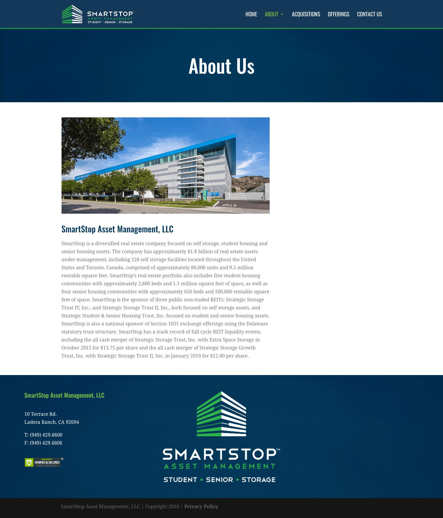 SmartStop-Asset-Management-Real-Estate-Investment-Trust-REIT-1031-Exchanges-Website-Design-About-Page
