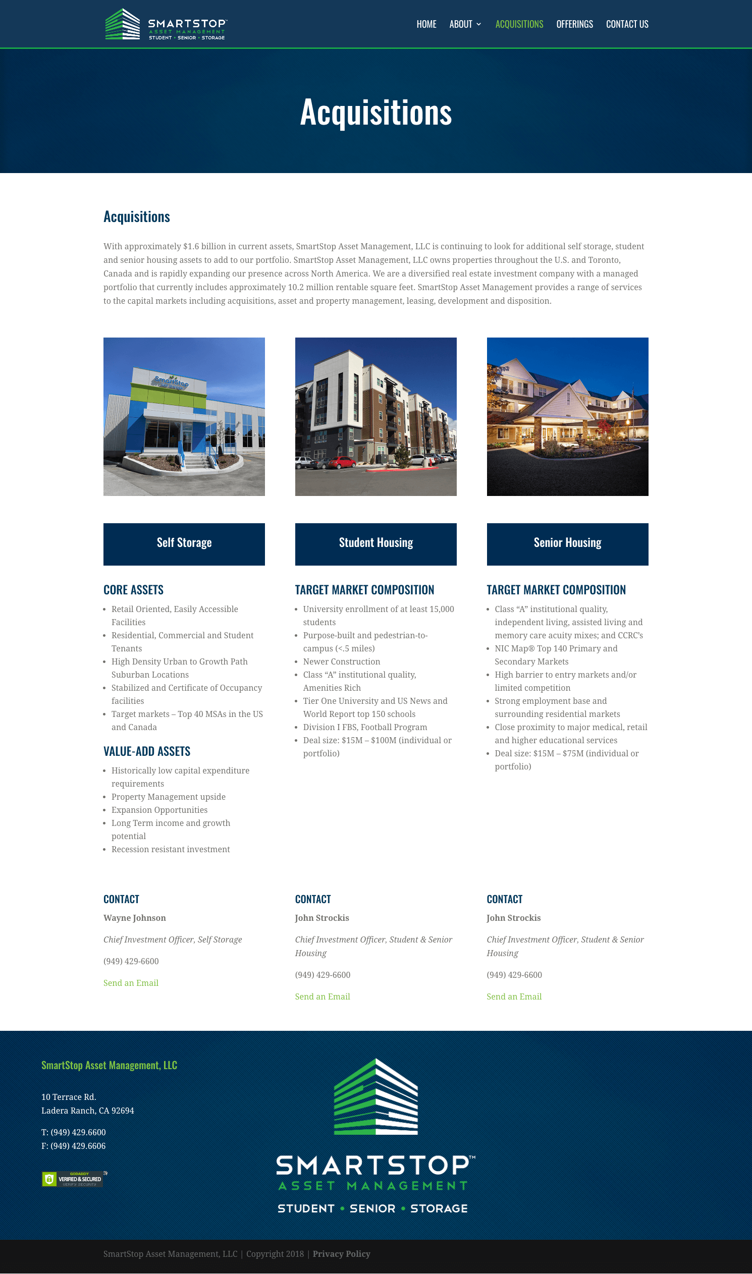 SmartStop-Asset-Management-Real-Estate-Investment-Trust-REIT-1031-Exchanges-Website-Design-Acquisitions-Page