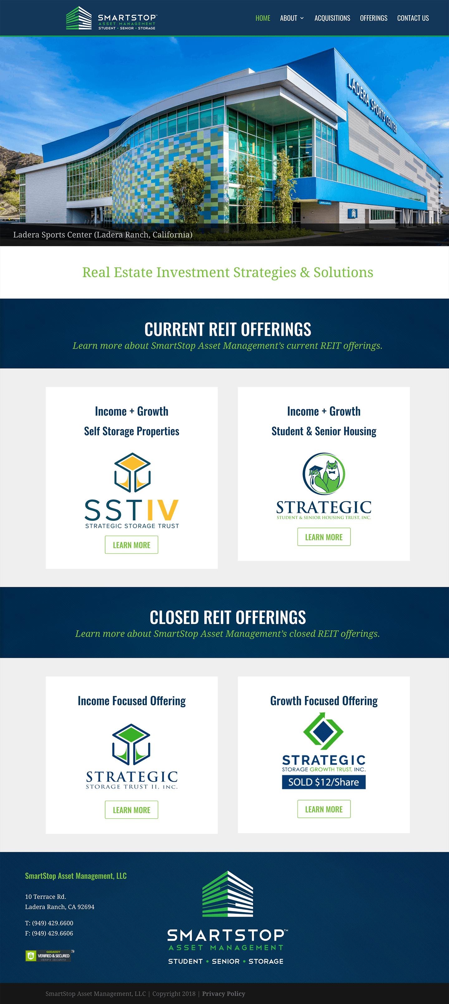 SmartStop-Asset-Management-Real-Estate-Investment-Trust-REIT-1031-Exchanges-Website-Design-Home-Page