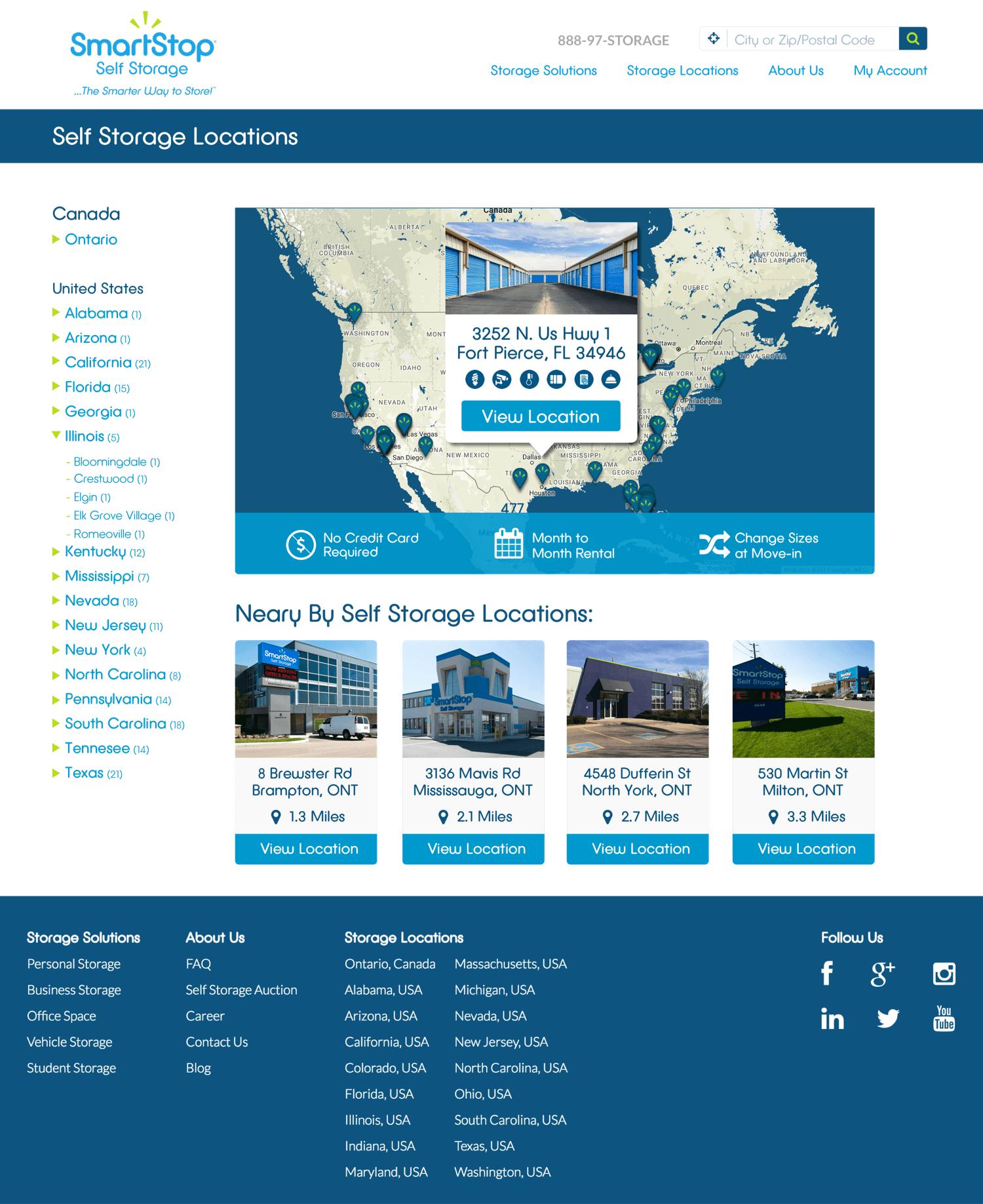 SmartStop-Self-Storage-Units-Website-Design-Locations-Page