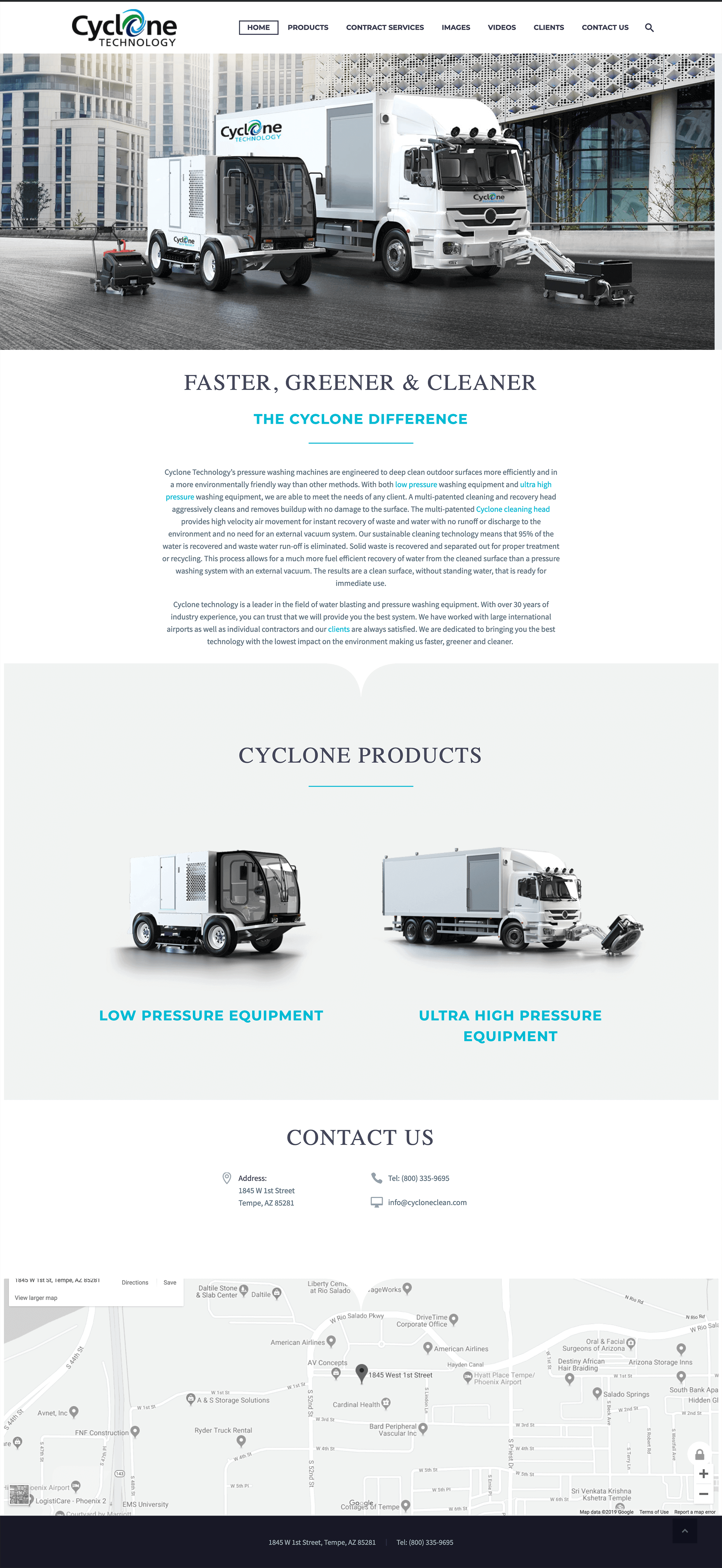 cyclone-clean-technology-website-design