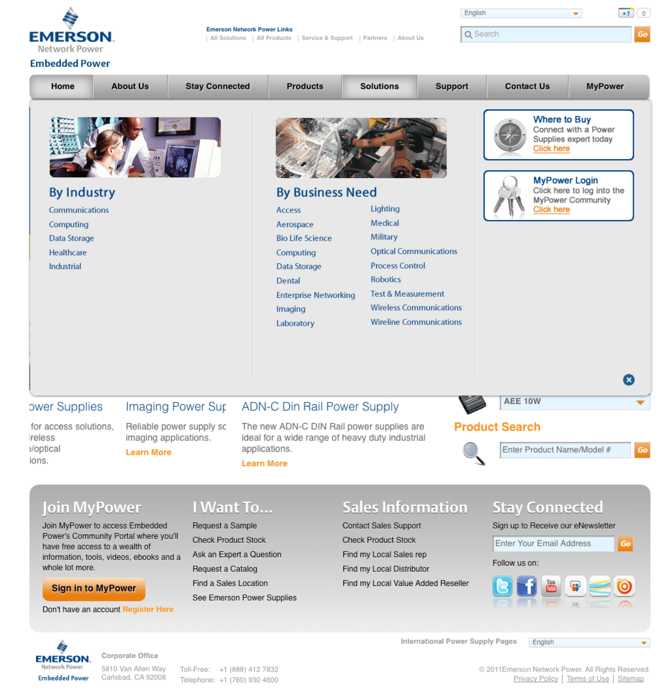 emerson-embedded-ac-dc-power-supplies-website-design-navigation
