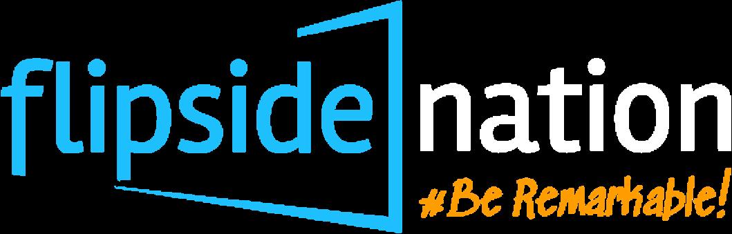 Flipside-Nation-Be-Remarkable-Word-press-Website-Design-Logo-B