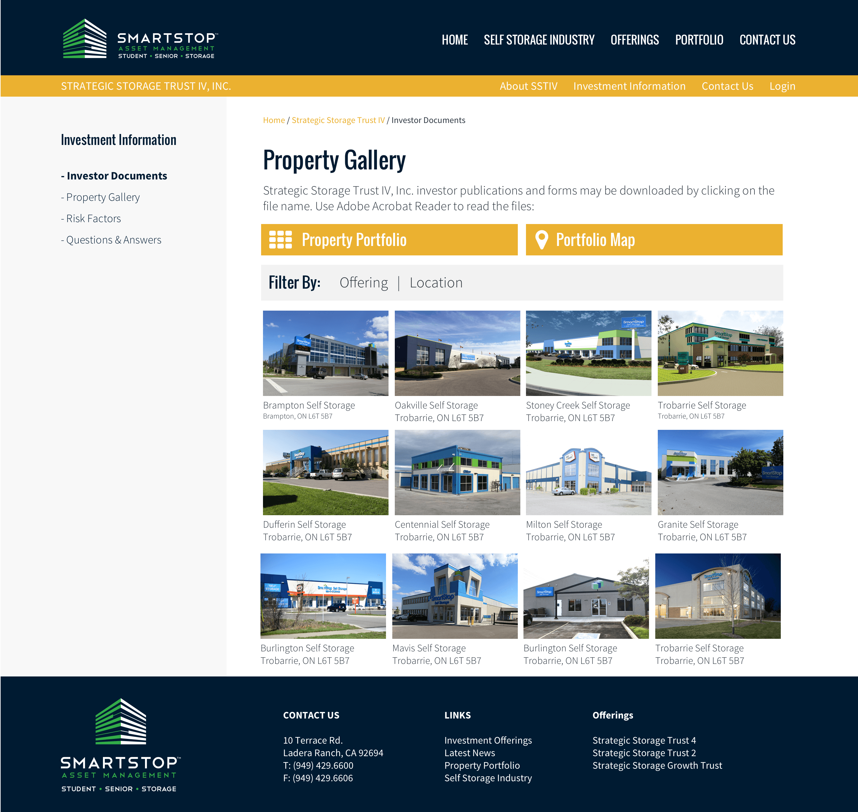 Strategic-REIT-Website-Design-REIT-and-1031-Exchange-Real-Estate-Investment-Trust-Gallery-Page