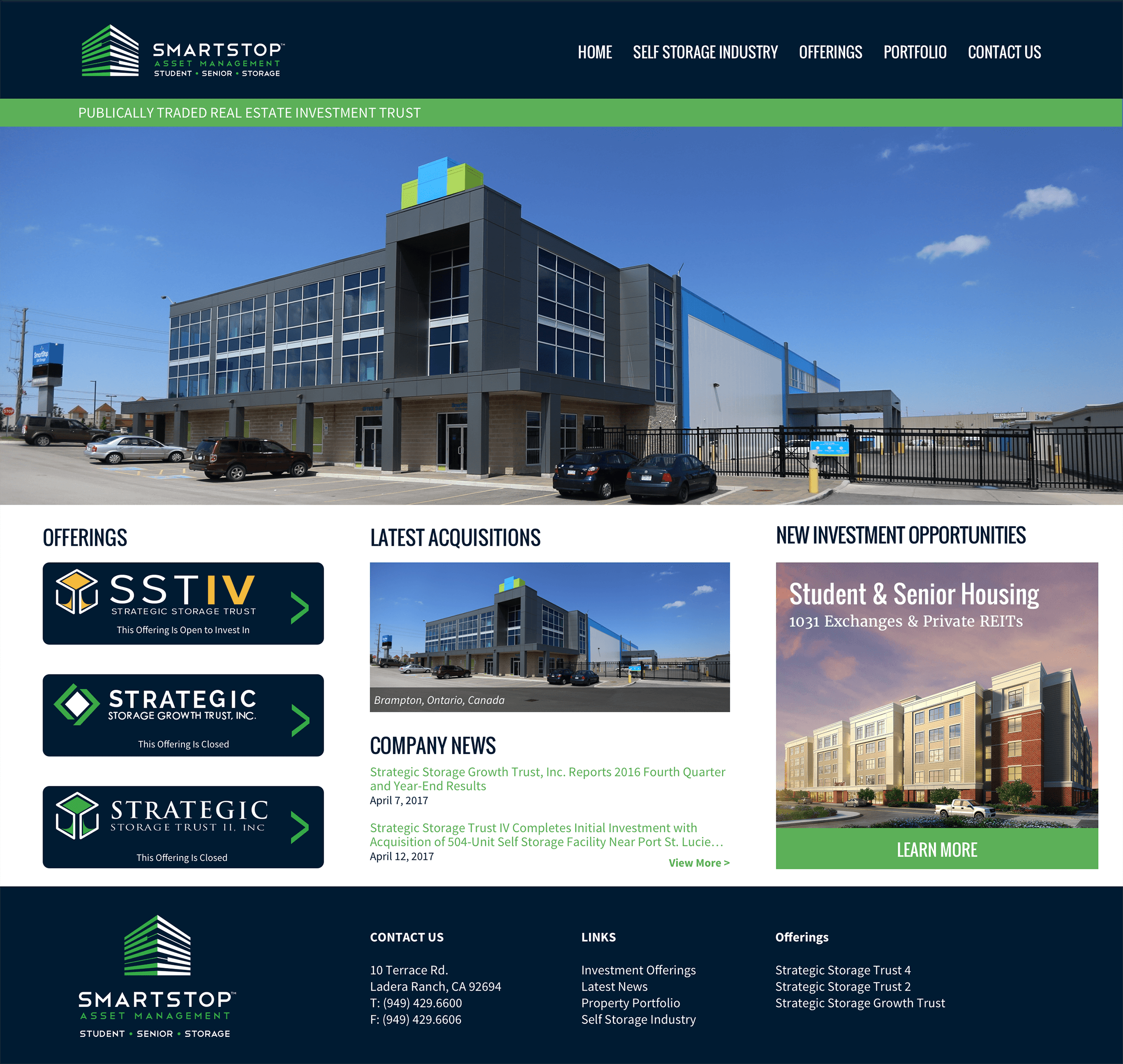 Strategic-REIT-Website-Design-REIT-and-1031-Exchange-Real-Estate-Investment-Trust-Home-Page