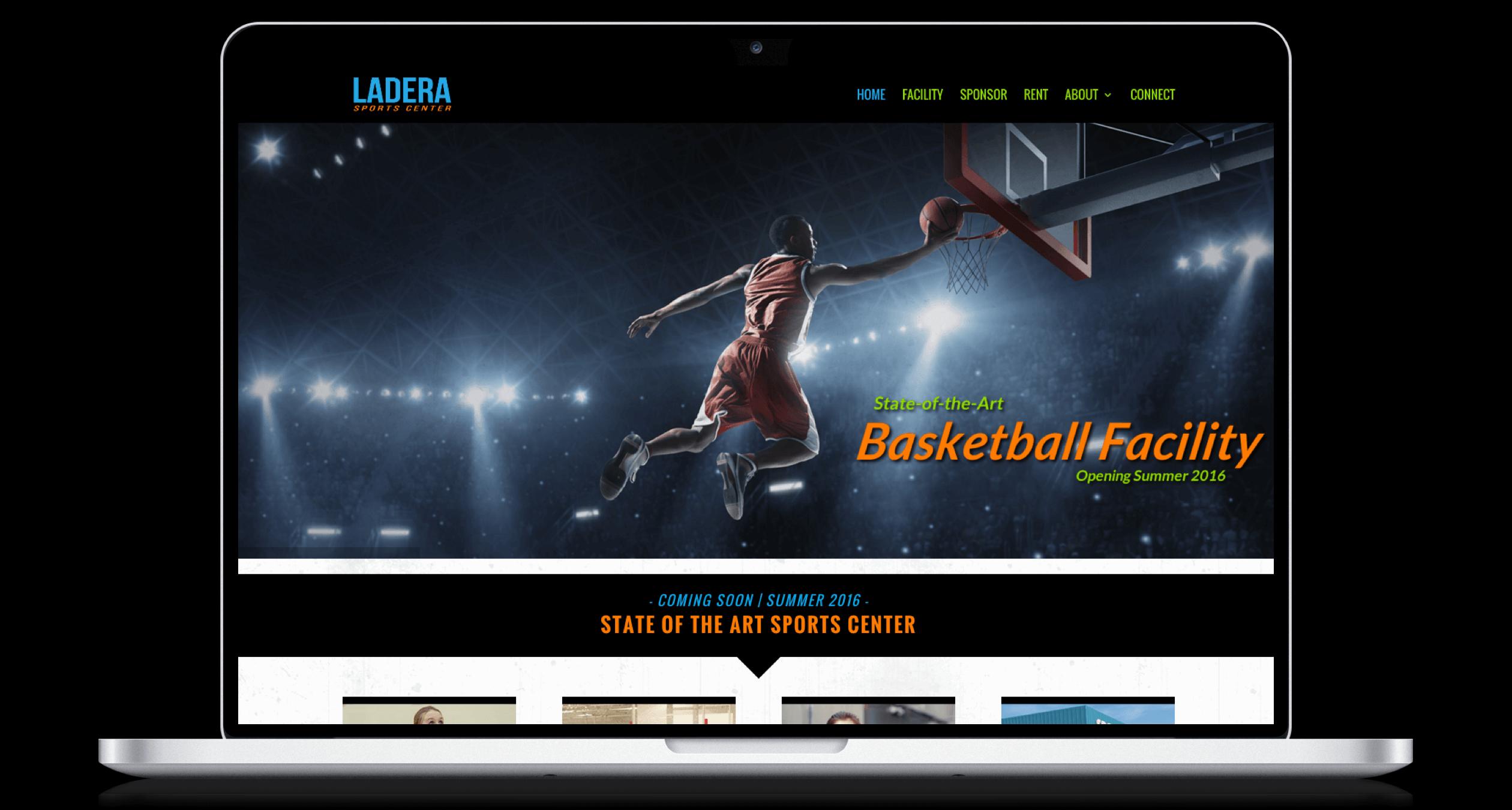PHX-Web-Agency-Ladera-Sports-Center-Website-Design-Before