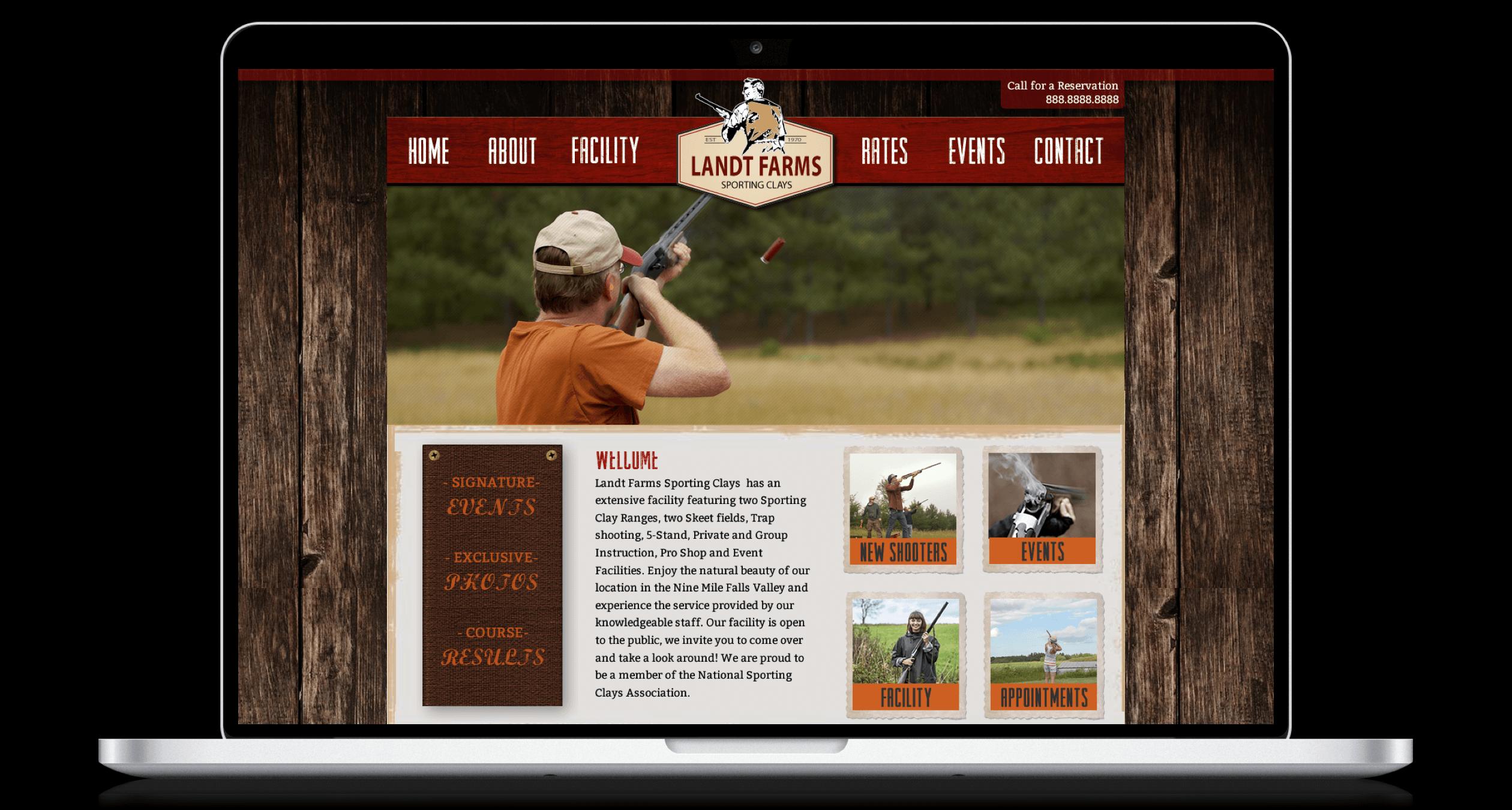 PHX-Web-Agency-Land-Shotgun-Clay-Shooting-Course-Website-Design-After