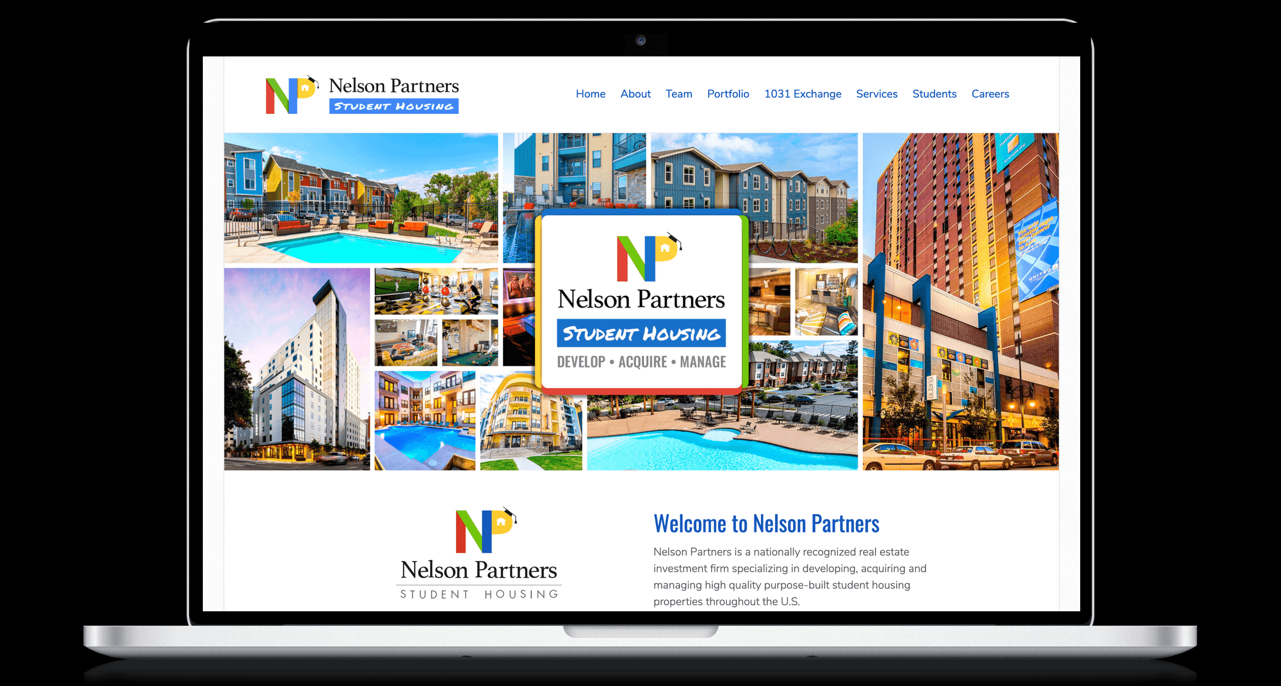 PHX-Web-Agency-Nelson-Partners-Student-Housing-Apartments-1031-Exchange-REIT-Website-Design-After