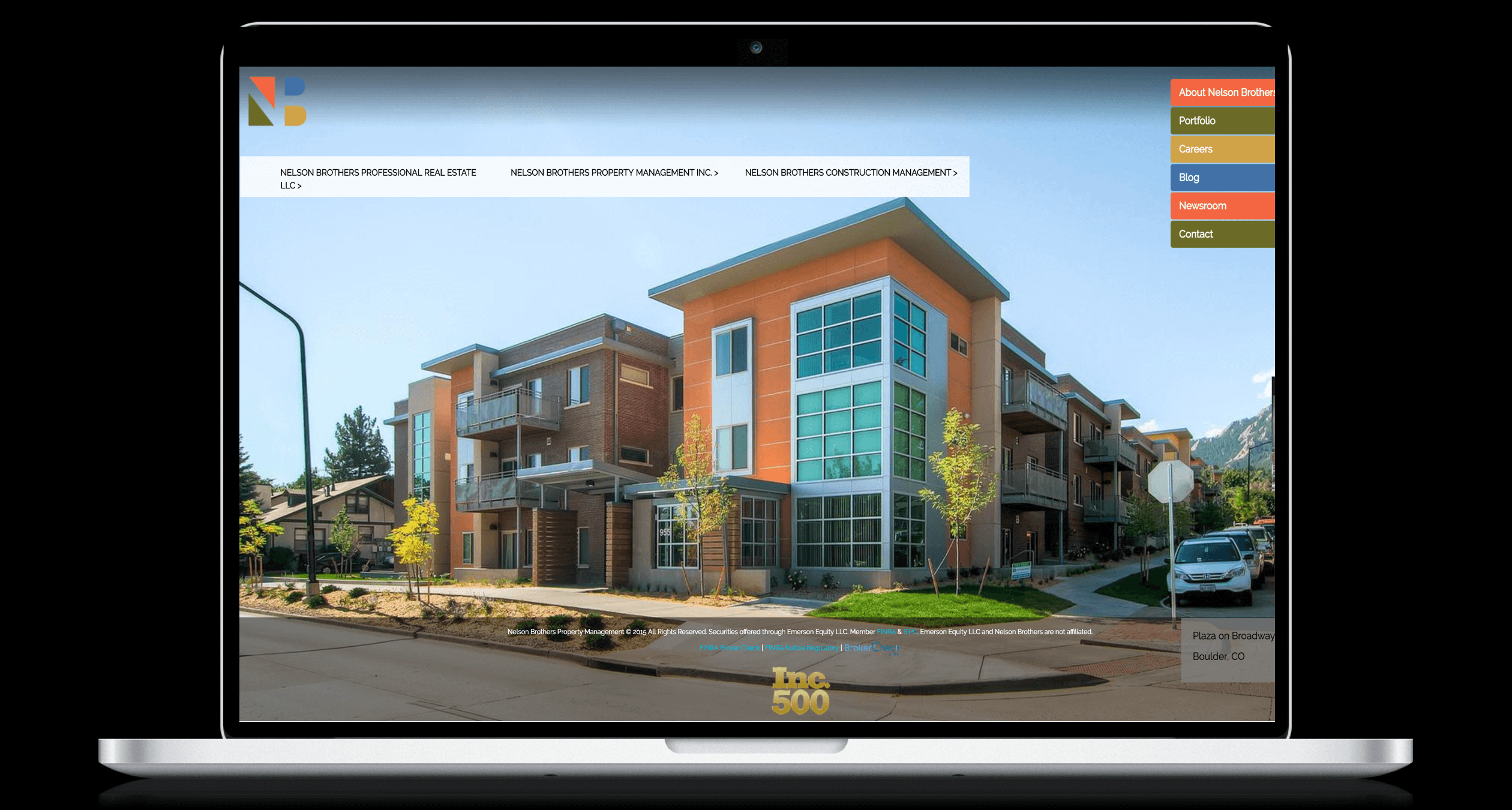 PHX-Web-Agency-Nelson-Partners-Student-Housing-Apartments-1031-Exchange-REIT-Website-Design-Before