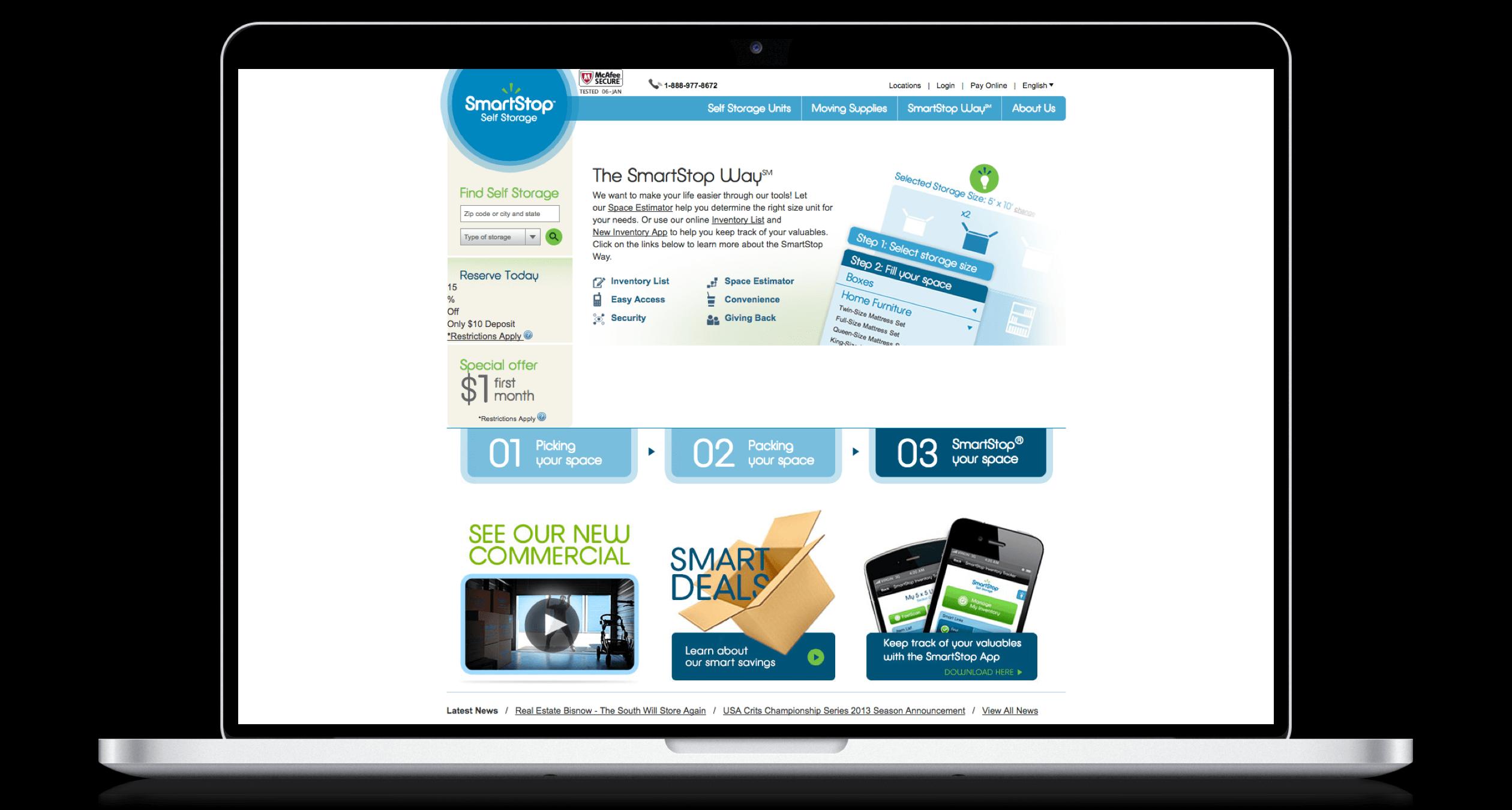 PHX-Web-Agency-SmartStop-Self-Storage-Units-Website-Design-Before