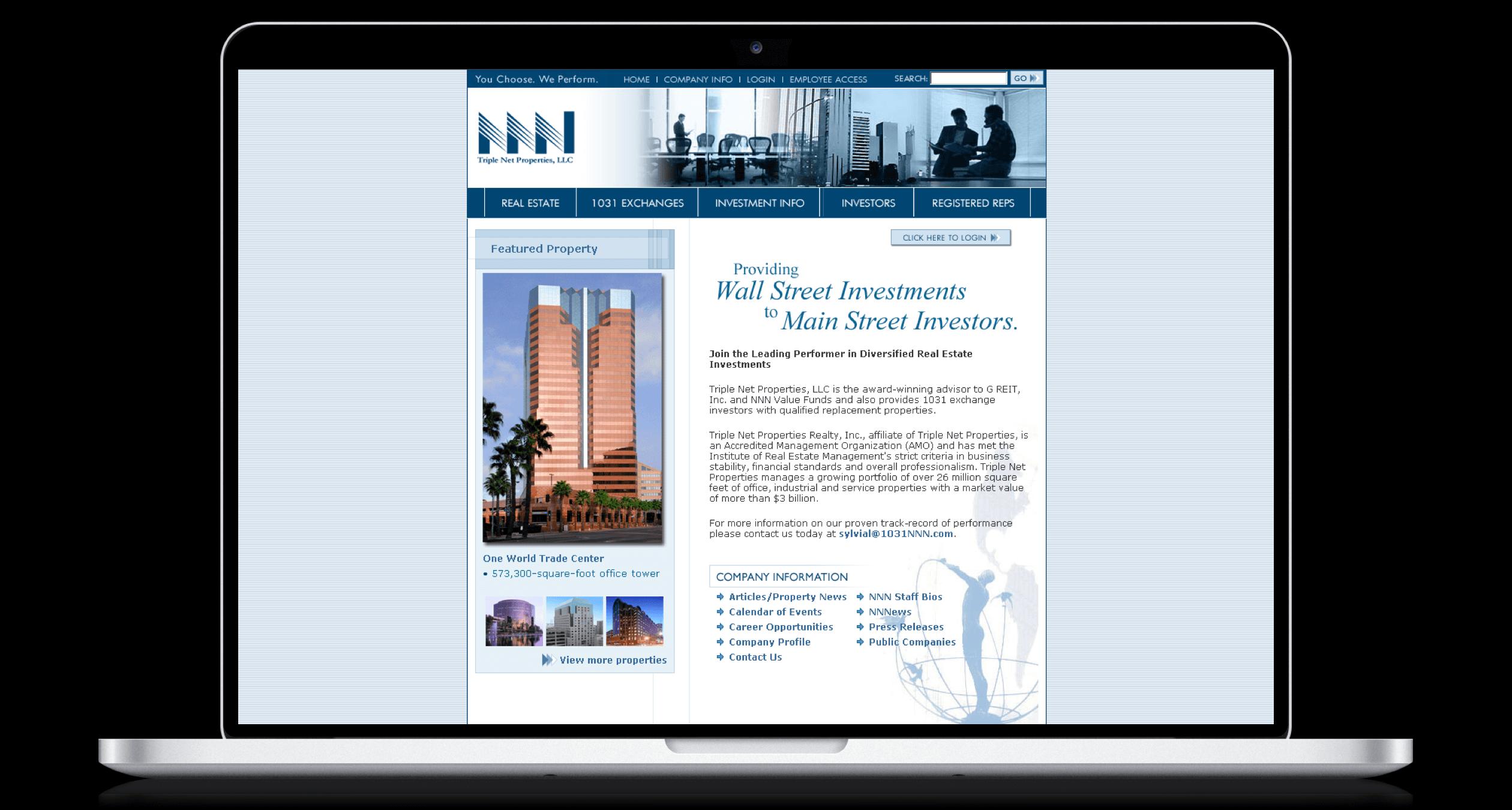 PHX-Web-Agency-Triple-Net-Properties-NNN-Real-Estate-Invetment-Trusts-REITS-1031-Exchange-Website-Design-After