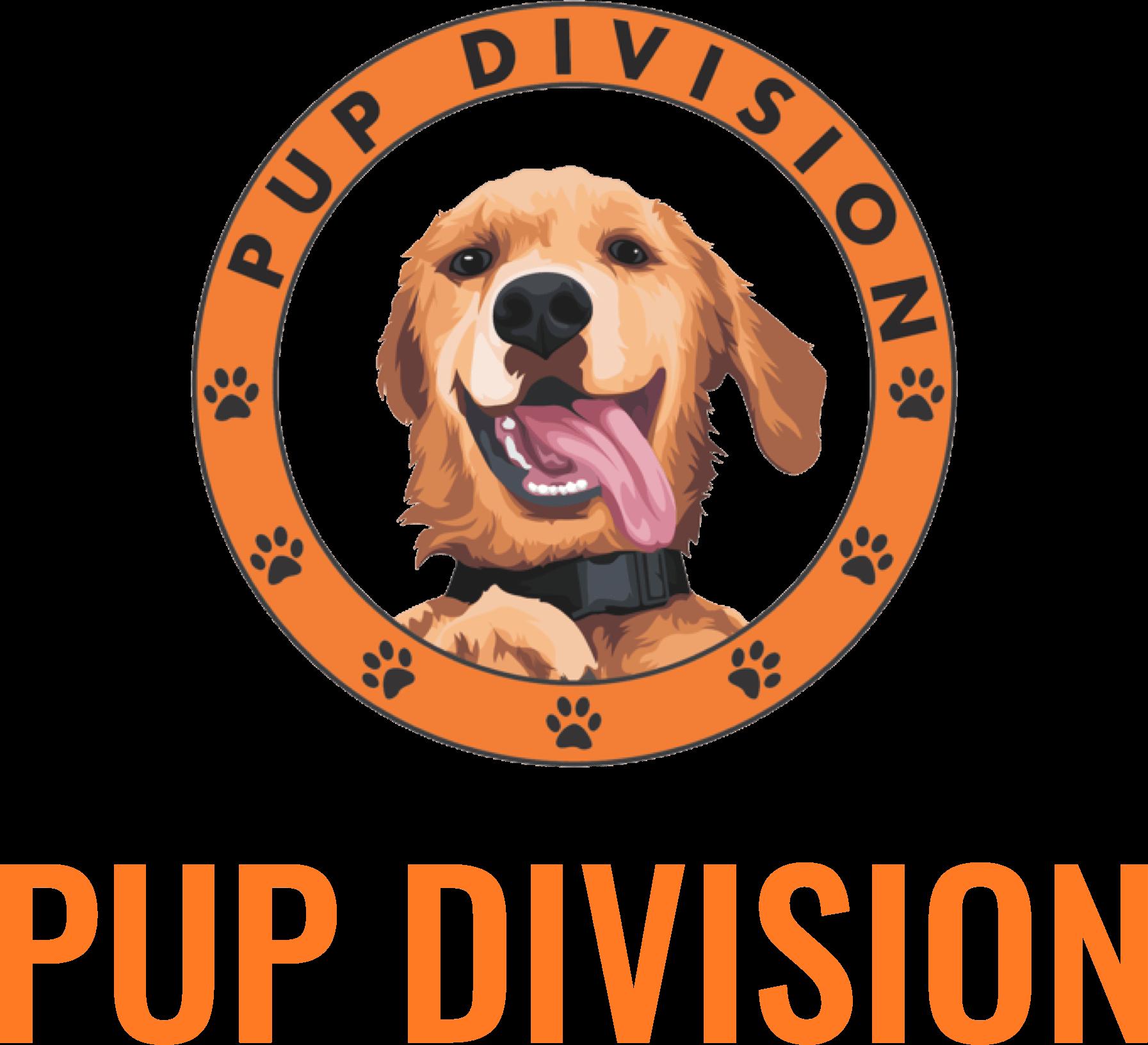 Pup-Division-Dog-Walking-Service-Logo